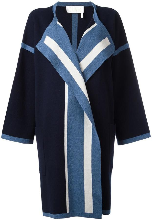 Chloé Chloé oversized cardigan coat