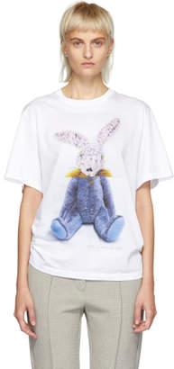 Stella McCartney White Bad Rabbit T-Shirt