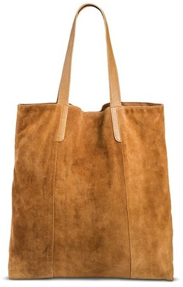 Women's Suede Tote Handbag - Merona $39.99 thestylecure.com