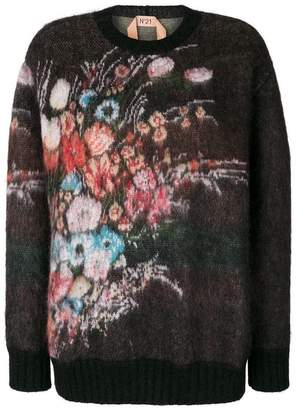 No.21 floral jumper