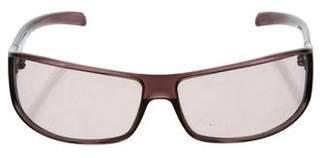 Emporio Armani Tinted Shield Sunglasses