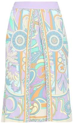 7f7099aade1582 Emilio Pucci Printed Crepe Pencil Skirt