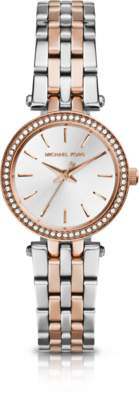 Michael Kors Petite Darci Two-Tone Stainless Steel Bracelet Watch