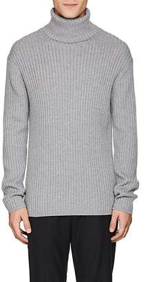 Theory Men's Rib-Knit Wool Turtleneck Sweater