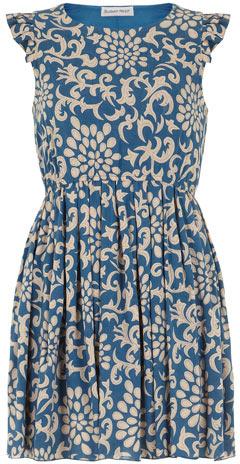 Dorothy Perkins Green floral dress