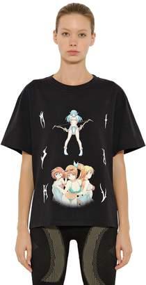 Misbhv MANGA コットンジャージーTシャツ