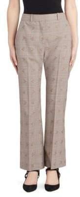 Altuzarra Alder Floral Check Trousers
