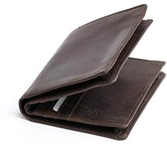 2ed5a4b9f287 at Amazon.com · N. Style Craft 391006 Men s Bifold Hipster Wallet in Dark  Leather
