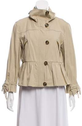 RED Valentino Pleat-Accented Safari Jacket