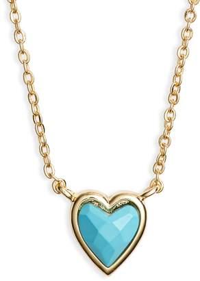 Melinda Maria Cadence Heart Pendant Necklace