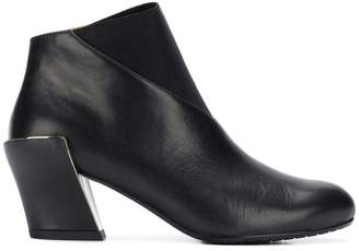 United Nude X ISSEY MIYAKE round toe ankle boots