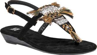 Cheap 100% Original MUK LUKS Lucille Thong Sandal(Women's) -Black Lowest Price For Sale Outlet Authentic JiZBJ