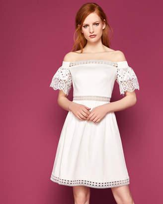 239f36dc0 Ted Baker White Back Zip Dresses - ShopStyle UK