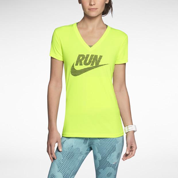 Nike Legend V-Neck Run Swoosh Women's Running Shirt