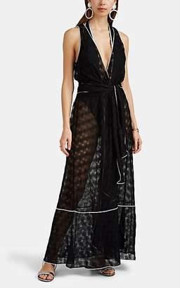 Missoni Mare Women's Sleeveless Wrap Maxi Dress - Black