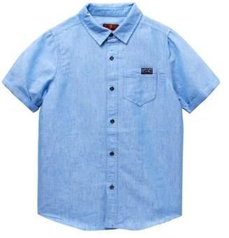 7 For All Mankind Short Sleeve Shirt (Big Boys)