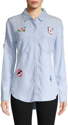 Rails Patch Collared Shirt