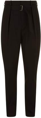 Givenchy Tapered High-Waisted Trousers