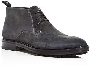 HUGO Men's Bohemian Suede Chukka Boots