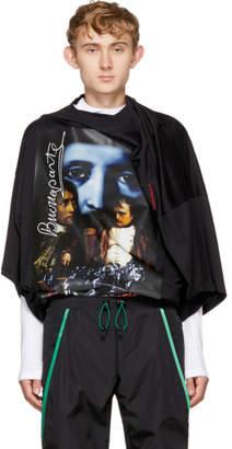 Y/Project Black Oversized Slim Shady T-Shirt