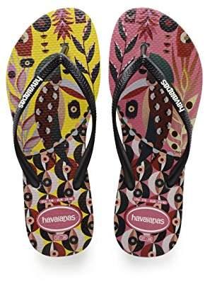 66530cdca Havaianas Women s Slim Retratos Flip Flops