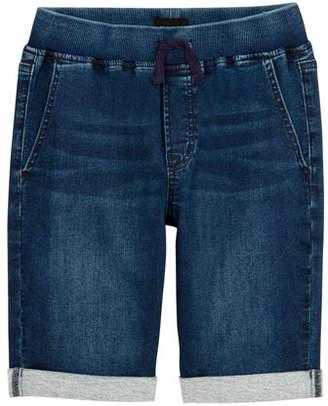 Hudson Boys' Taj Drawstring Denim Shorts, Size S-XL