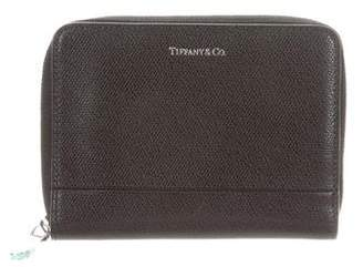 Tiffany & Co. Leather Zip Wallet