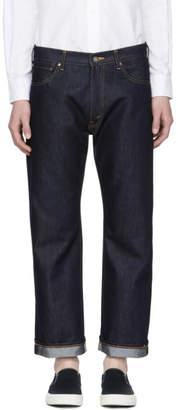 Junya Watanabe Indigo The North Face Edition Logo Jeans