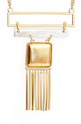 Karine Sultan Long Bib Necklace