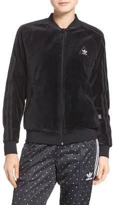 Women's Adidas Originals By Pharrell Williams Hu Jacket $100 thestylecure.com