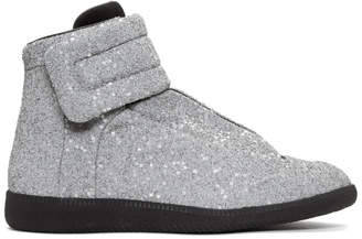 Maison Margiela Silver M3 Future Sneakers