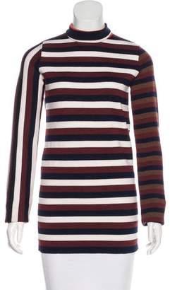 Victoria Beckham Long Sleeve Wool Top