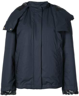 Jil Sander oversized hood jacket