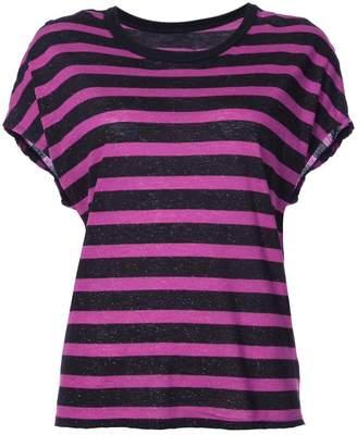 RtA striped short-sleeve T-shirt