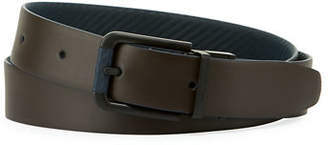 Dunhill Reversible Chassis Leather Belt