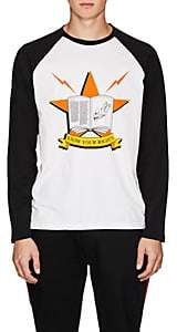 """Ovadia & Sons Men's """"Know Your Rights"""" Cotton T-Shirt - White"""
