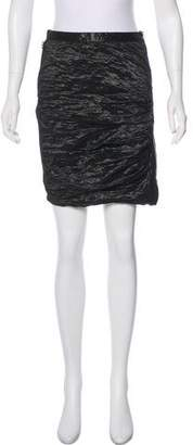 Yigal Azrouel Textured Mini Skirt
