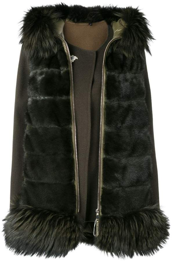 Liska fox fur padded jacket