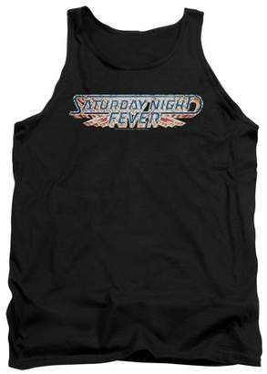 Saturday Night Fever Logo Mens Tank Top Shirt