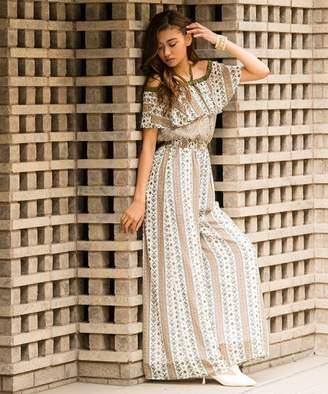 Million Carats (ミリオン カラッツ) - Million Carats ペイズリーオールインワン[DRESS/ドレス]