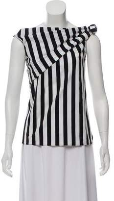 Monse Striped Sleeveless Top