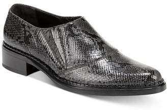 Vince Women's Delmar Snake-Print Loafers