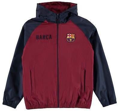 Source Lab Kids Boys Barcelona Shower Jacket Junior Rain Coat Top Long Sleeve