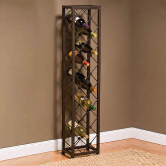 Three Posts Oakham 15 Bottle Floor Wine Rack