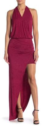 Young Fabulous & Broke Birdseye Side Slit Maxi Dress