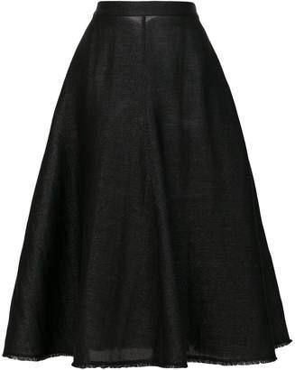 Jil Sander midi full skirt