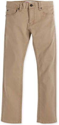Levi's 511 Slim Fit Sueded Pants, Big Boys
