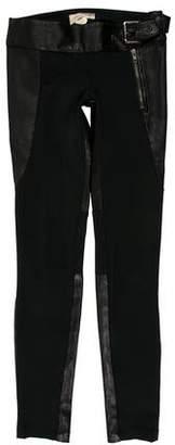 Elizabeth and James Low-Rise Skinny-Leg Pants