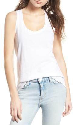7 For All Mankind Slub Racerback Tank