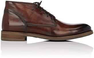 John Varvatos Men's Varick Leather Chukka Boots